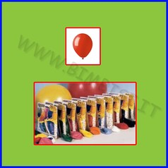 Palloncini tondi cf 25 rosso