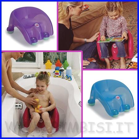 Accessori Bagno Per Bambini.Bimbi Si Cambio E Bagno Bagnetto E Accessori 103 833 Pouf Sedile Da Bagno Antisdrucciolo Ok Baby