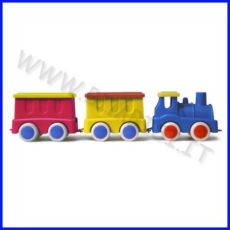 Go-go trenino locomotiva+2 vagoni col.as