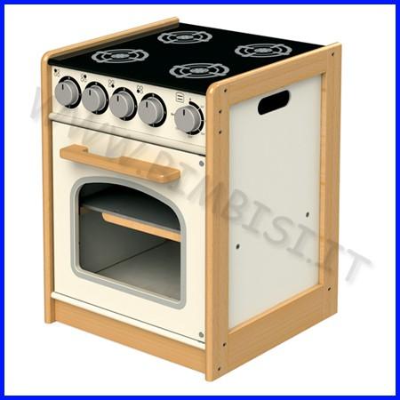 Mobile cucina serie edu - fornelli/forno