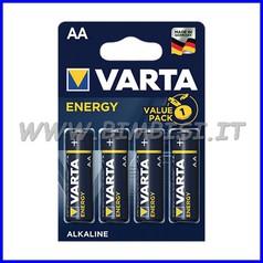 Pila energy alcaline stilo - blister 4 pz.