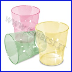 Bicchieri ml 330 colori solari ass.6 pz