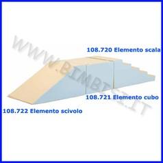 Elemento scivolo 100x60x45
