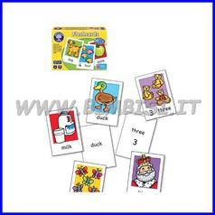 Impara l'inglese - playcards parole e numeri