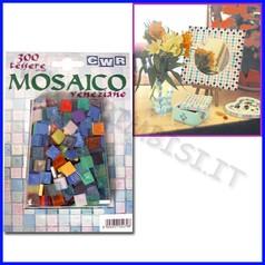 Mosaico veneziano blister 300 tessere colori assortiti