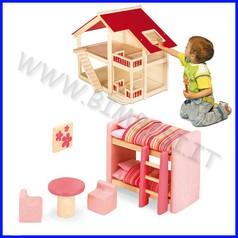Casa delle bambole - cameretta 6 pz