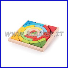Costruzioni legno archi e triangoli 37pz