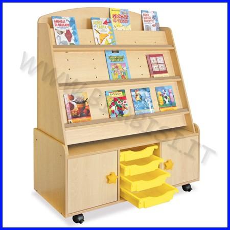 Libreria cm.109x46x137h