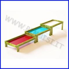 Tavolo manipolazione (set 3 tavoli)