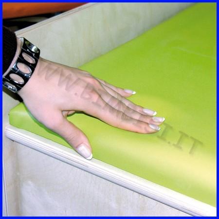 Materassino morbido cm.120x70x8h x fasci atoio linea milano c/s scala