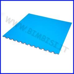 Tappeto incastro evafloor rosso/blu cm 100x100x1.5 ignifugo