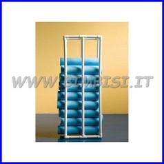 Scaffale porta attrezzi cm 40x60x h180