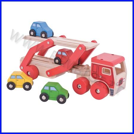 Camion trasporto auto + 4 automobili