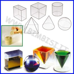 Solidi geometrici set 6 pezzi