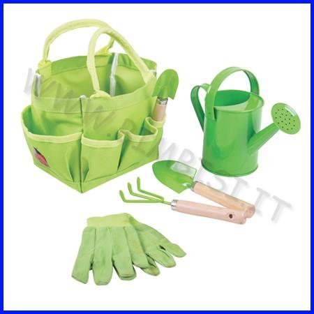 Giardinaggio - borsa con 5 accessori