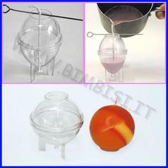 Stampo candele sfera diam. cm 6.5