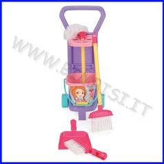 Lavori di casa carrello pulizie completo