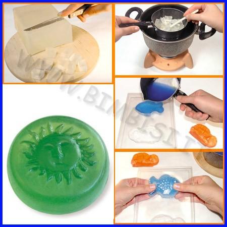 Stampo sapone tridimensionale sole fino ad esaurimento