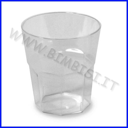 Bicchierino 40 ml. conf.1000 pz. trasparente fino ad esaurimento