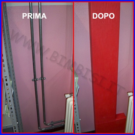 Protezione di sicurezza su misura in eva sp.08mm con accoppiamento in legno 12mm