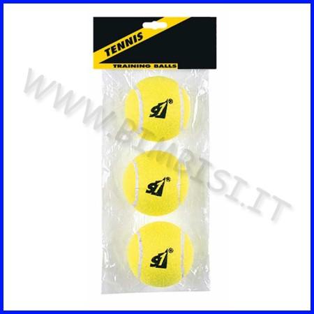Palle da tennis busta 3 pezzi