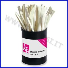 Stecche plastica extra per scultura 35 pz assortiti