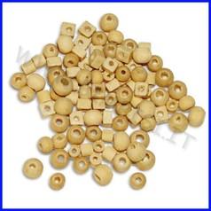 Microperle in legno busta 100pz