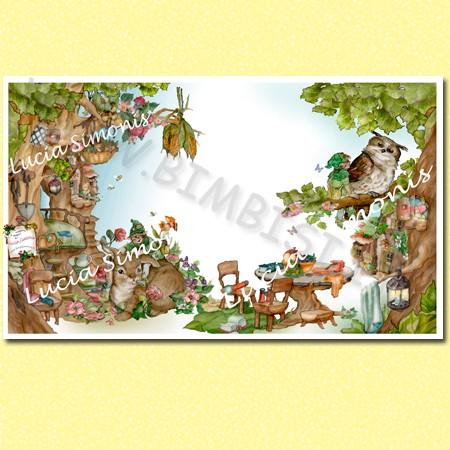 Poster linea fantasy cartalucida 170x100