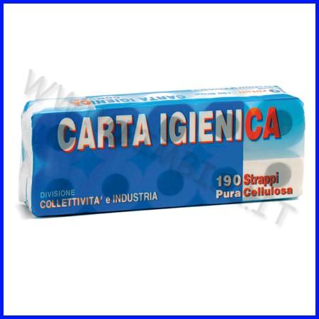 Rotolo carta igienica 2 veli - conf. 10 pz.