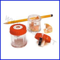 Temperamatite con barattolo trasparente fino ad esaurimento