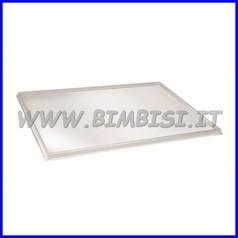 Vassoio per tavolo luminoso cm. 58x39x1,5 h