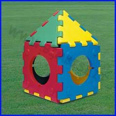 Cubic toy casetta