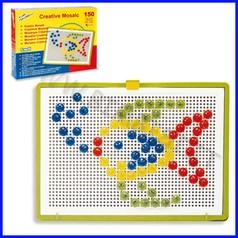 Mosaico creativo chiodini 300 pz /diam.5-10-15-20 mm.