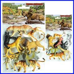 Animali selvaggi - busta 8 pz.