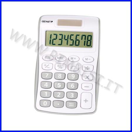 Calcolatrice tascabile - grigio