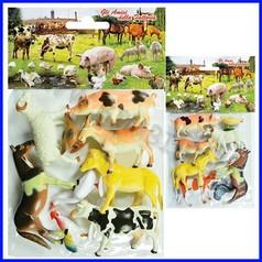 Animali della fattoria - busta 8 pz.