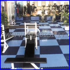 Pavimentazione modulare puzzle floor azzurro 11 pz = 1 mq