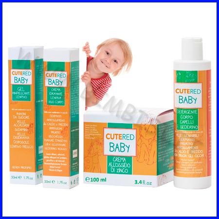 Cutered baby assortimento 16 pz 4 flaconi per tipo