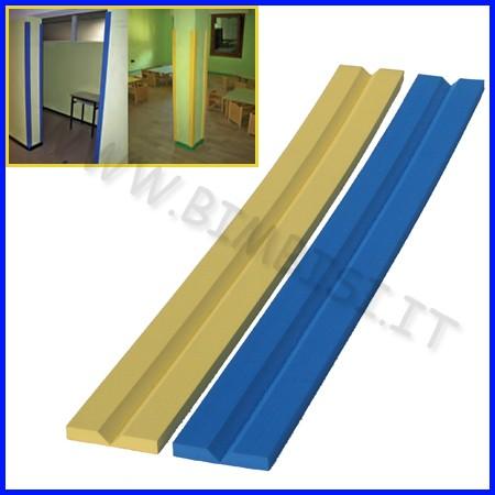 Paraspigolo eva v barra 150cm sp.1.5cm blu