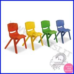 Sedia in ppl materna blu h 30cm