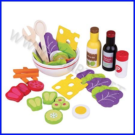 Alimenti in legno insalata set 36 pezzi