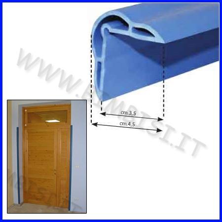 Paraspigolo blu mt.1 - sp. mm. 2