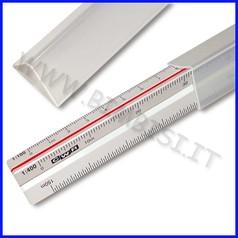 Scalimetro plex per edilizia cm. 30