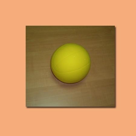 Palla soft basket 170 mm gialla fino ad esaurimento
