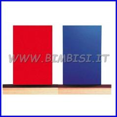 Protezione murale antitrauma sp. cm 4.4 rosso cl1 lastra cm 200x130