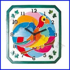 Creare orologi forma rilievo orologio pappagallo fino ad esaurimento