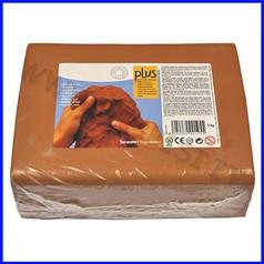 Pasta per modellare plus kg.5 - terracotta