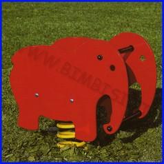 Gioco a molla bi elefante