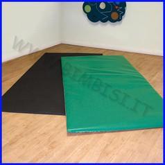 Tappeto multifunzione cm.102x202x2,2h bicolore verde/rosa