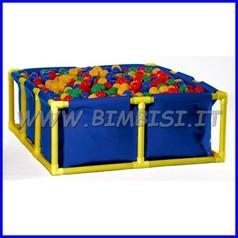 Piscina in plastica cm 135x120x50 per palline o acqua